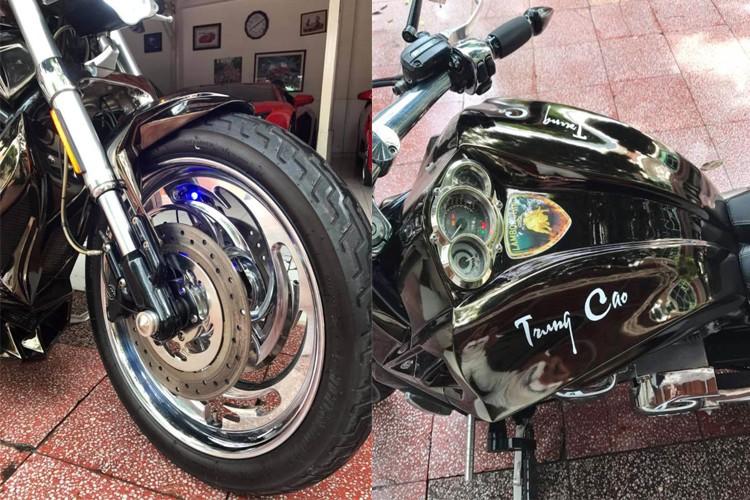 """Moto Harley V-Rod """"hang khung"""" cua dai gia Y te Sai Gon-Hinh-5"""
