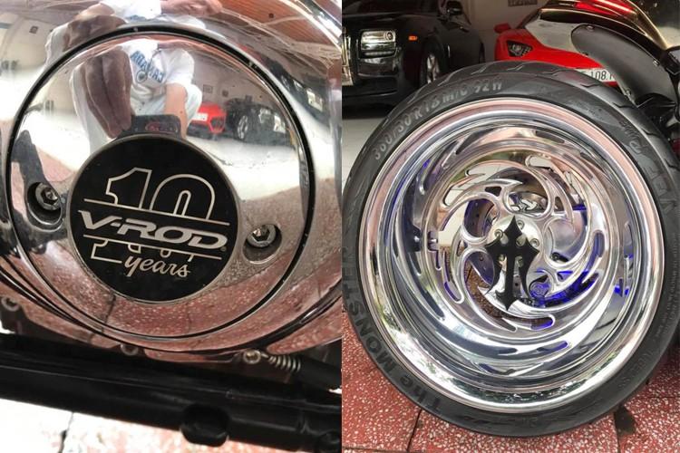 """Moto Harley V-Rod """"hang khung"""" cua dai gia Y te Sai Gon-Hinh-8"""