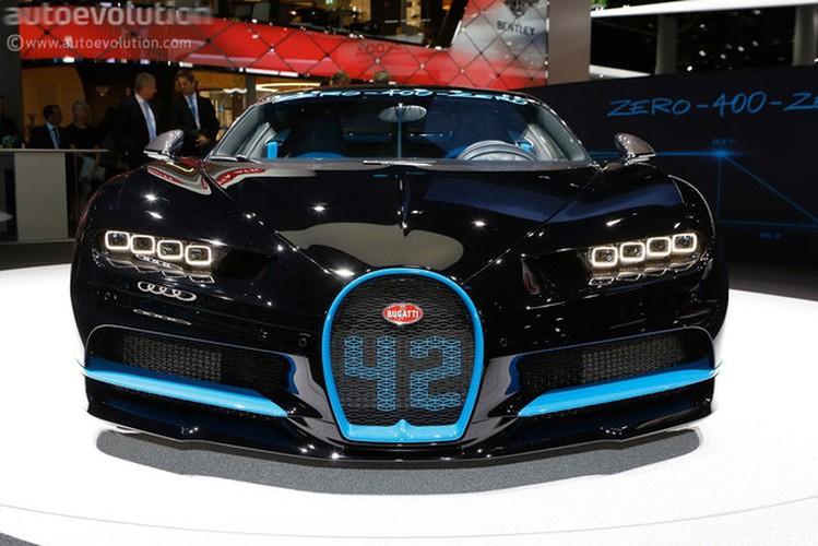 "Sieu xe Bugatti Chiron ""Zero-400-Zero"" doc nhat The gioi"