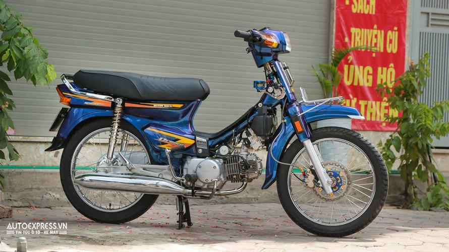 Dan choi Ha Noi do Honda Dream Thai 50 trieu dong-Hinh-3