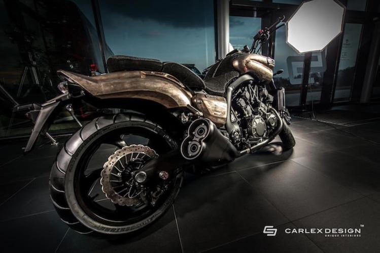 """""""Ma toc do"""" Yamaha Vmax do sieu doc cua Carlex Design"""