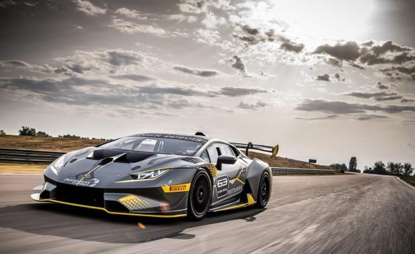 Lamborghini ra mat Huracan Super Trofeo EVO sieu khung-Hinh-3