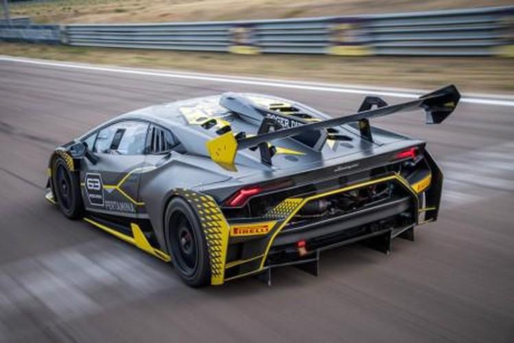 Lamborghini ra mat Huracan Super Trofeo EVO sieu khung-Hinh-6