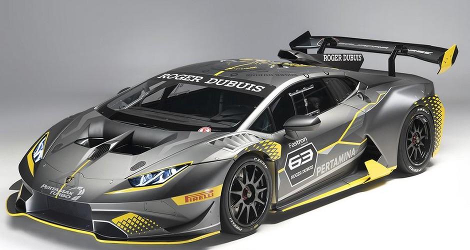 Lamborghini ra mat Huracan Super Trofeo EVO sieu khung