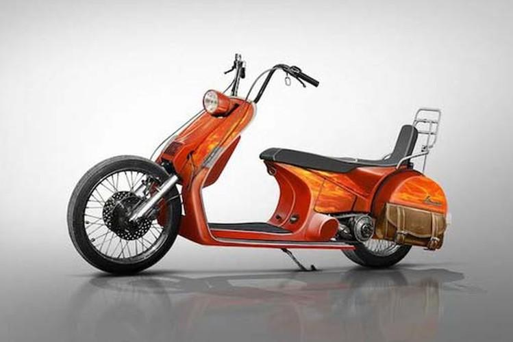 """""""Te ngua"""" voi loat thiet ke moto phong cach Vespa-Hinh-2"""