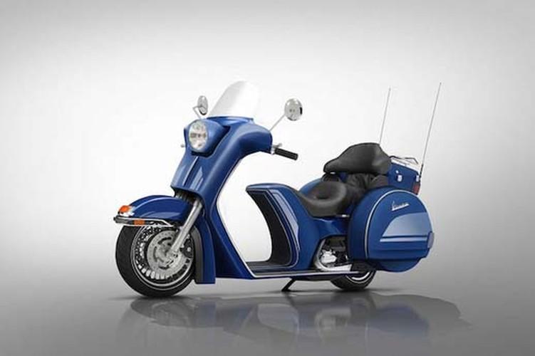 """""""Te ngua"""" voi loat thiet ke moto phong cach Vespa-Hinh-6"""