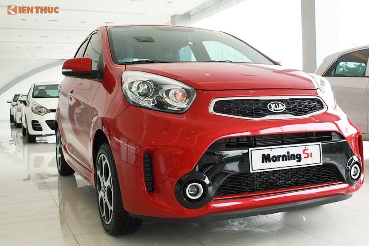 """Kia Morning giam gia """"dau"""" Hyundai i10 tai Viet Nam-Hinh-6"""