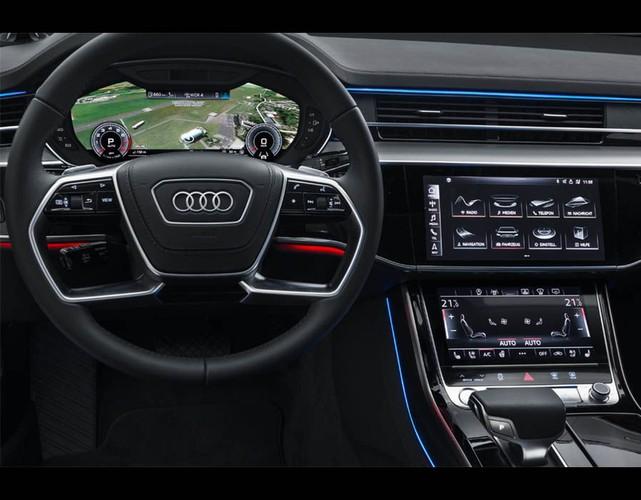 """Audi A8 2018 chinh thuc ra mat """"chot gia"""" 2,3 ty dong-Hinh-7"""
