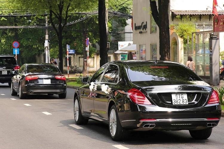 "Dan xe sang tien ty ruoc hoa hau Thu Thao ""ve dinh""-Hinh-3"
