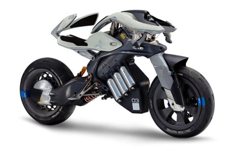 Xe moto Yamaha MOTOROiD co the nhan dien chu nhan