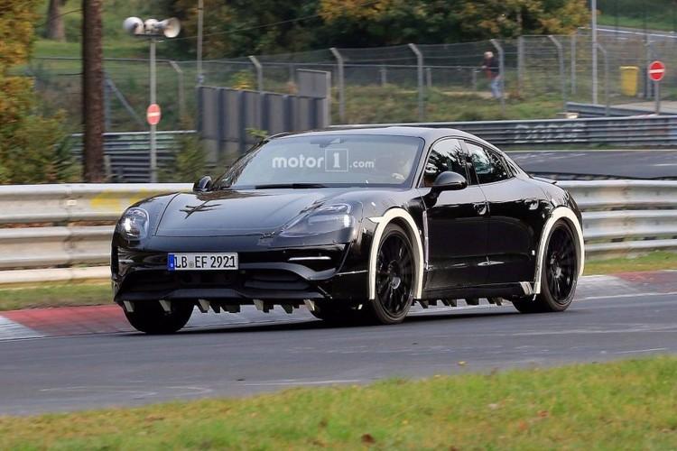 "Lo dien sieu xe dien Porsche Mission E ""dau"" Tesla-Hinh-4"