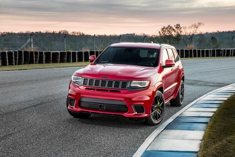 Top xe oto phan khuc SUV manh nhat nam 2017