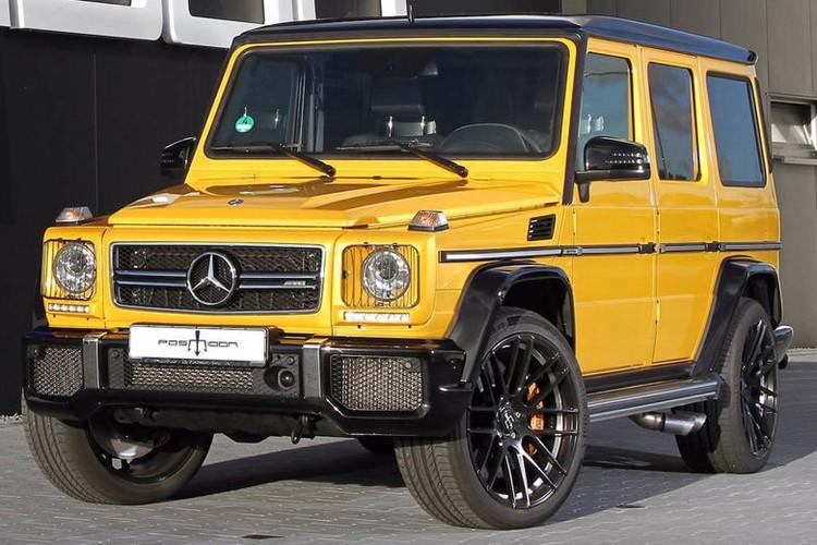 """Quai vat"" Mercedes-AMG G63 do Posaidon 850 ma luc"