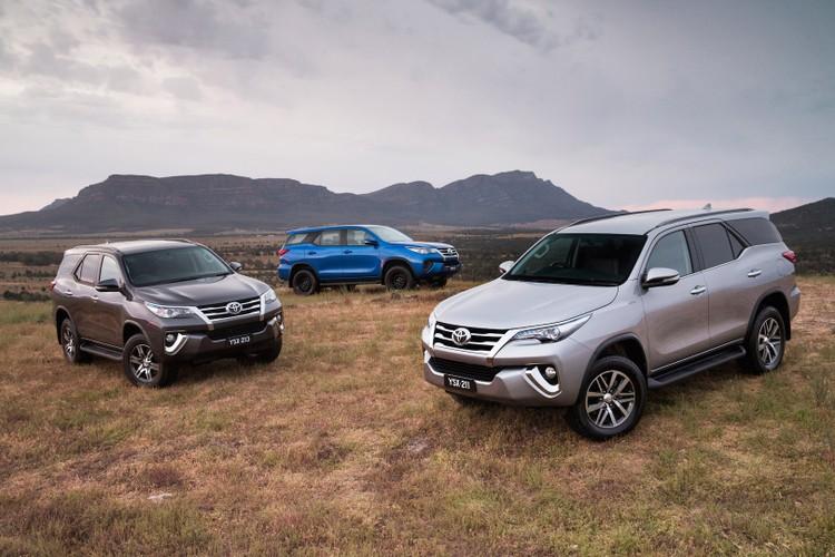 Toyota Fortuner 2018 giam gia den 125 trieu dong