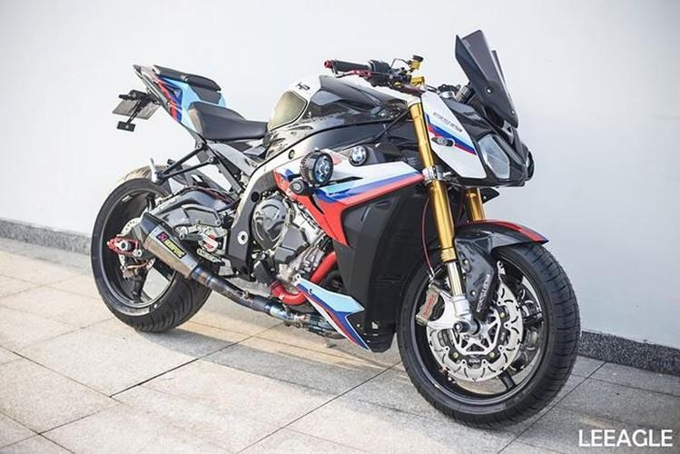 "Moto BMW S1000R gia 600 trieu ""do khung"" tai Sai Gon"