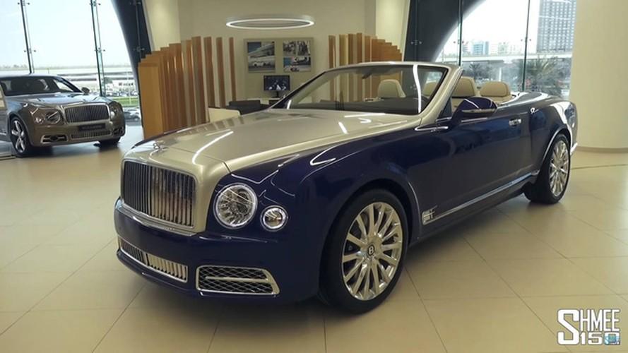 """Xe sang Bentley Mulsanne Grand Convertible """"sieu hiem"""""""