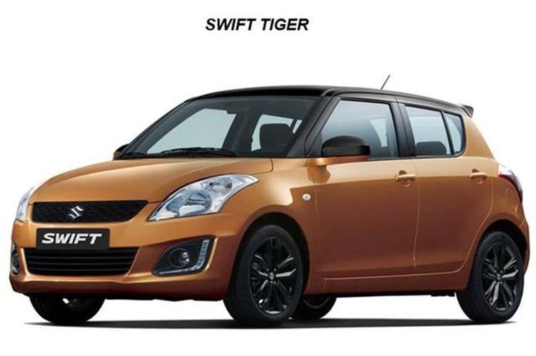 Suzuki ban dac biet Swift Tiger chot gia 339 trieu dong-Hinh-2