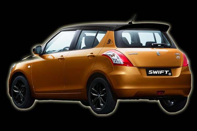 Suzuki ban dac biet Swift Tiger chot gia 339 trieu dong-Hinh-3