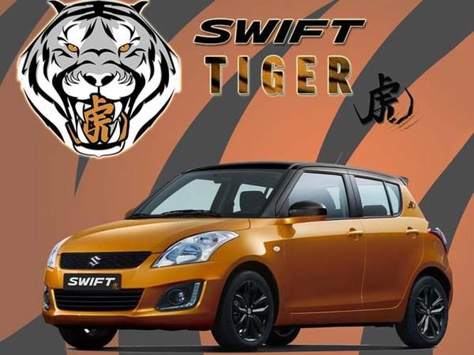Suzuki ban dac biet Swift Tiger chot gia 339 trieu dong-Hinh-6