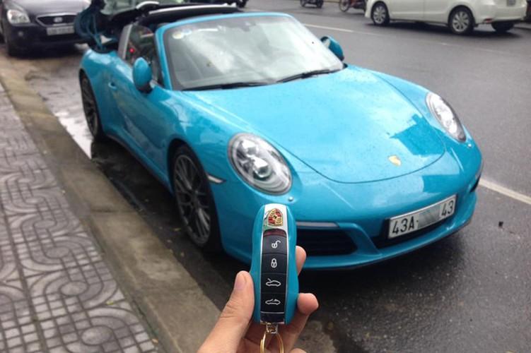Sieu xe Porsche 911 gia hon 8 ty