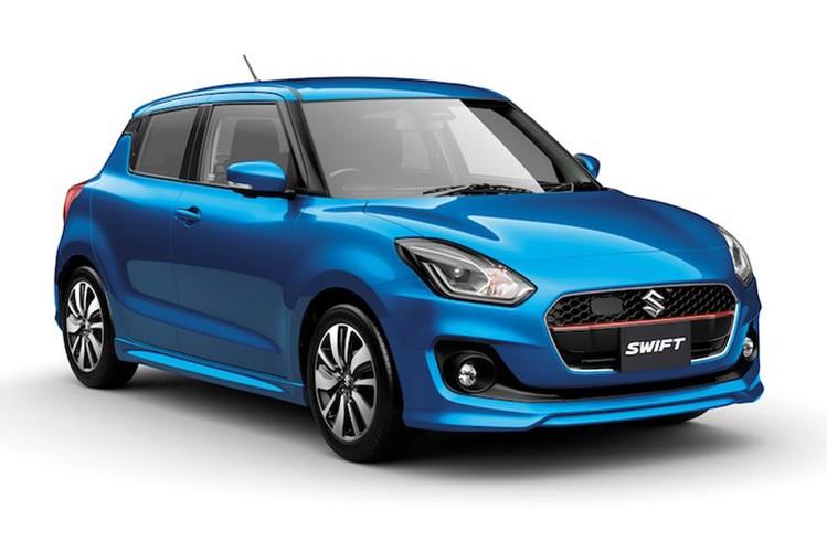 Suzuki Swift 2017 gia 259 trieu khac gi the he cu?
