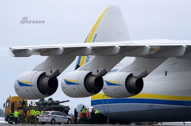 Van tai co An-225 Ukraine cho 4 xe tang T-72A di dau?-Hinh-4