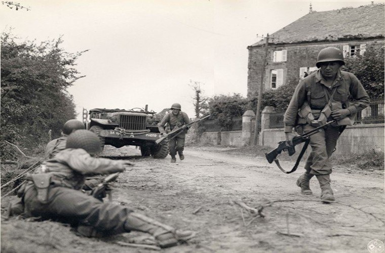 Anh hiem nhung ngay dau cua quan Dong Minh tai Normandy-Hinh-10