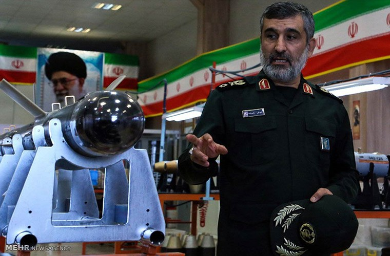 Chiem nguong mau UAV tang hinh Iran khien My