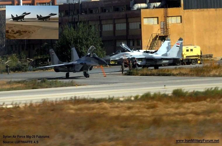 MiG-29 Syria mang ten lua R-77, My-Israel khong dam lam lieu?
