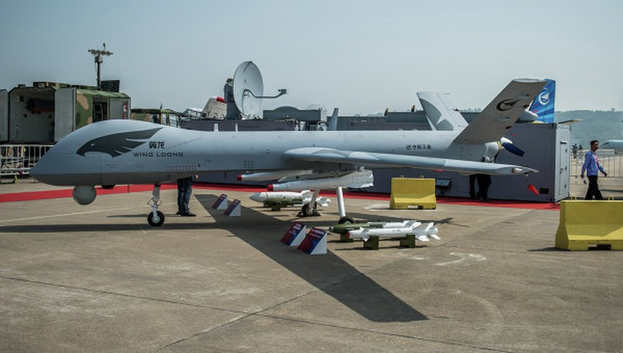 UAV Trung Quoc bat ngo xuat hien