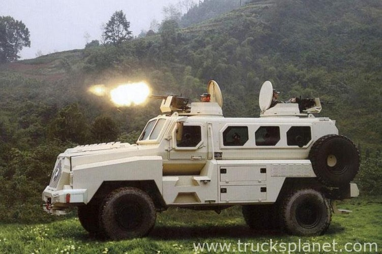 Kham pha xe boc thep Trung Quoc vua giao cho Kenya-Hinh-6