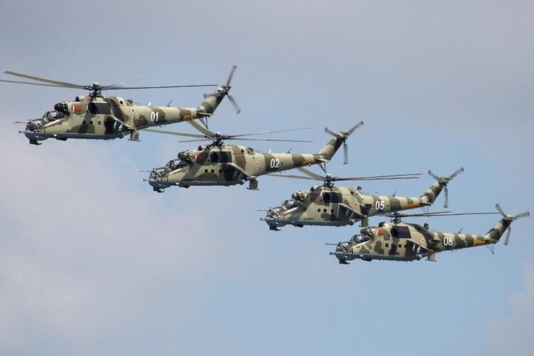 Nhung mau son nguy trang cuc ngau cua truc thang Mi-24