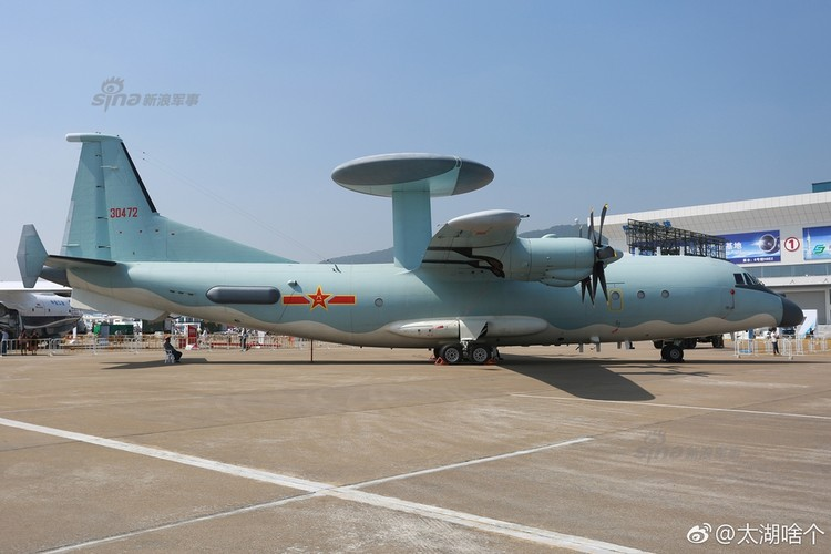 Chi tiet suc manh may bay canh bao som KJ-500 tren dao Hai Nam-Hinh-9