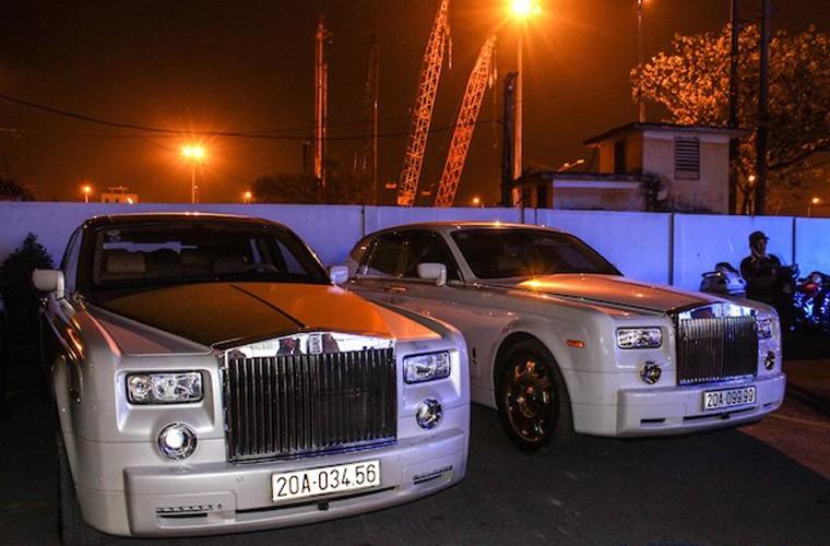 Ngam cap Rolls-Royce Phantom ma vang cua dai gia Thai Nguyen