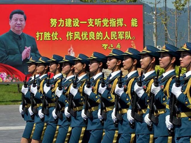 "Ngam dan ""chan dai"" tham gia dieu binh cua Trung Quoc-Hinh-2"