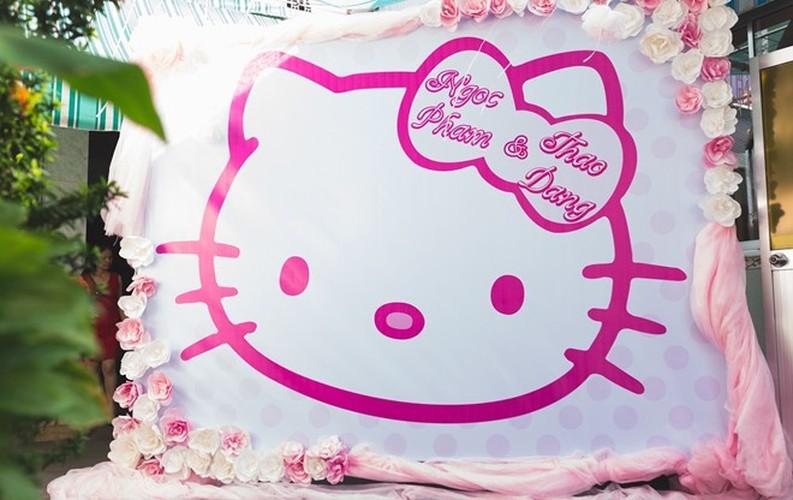Le an hoi phong cach Hello Kitty tai Binh Duong gay sot-Hinh-3
