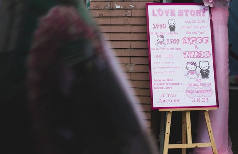 Le an hoi phong cach Hello Kitty tai Binh Duong gay sot-Hinh-7