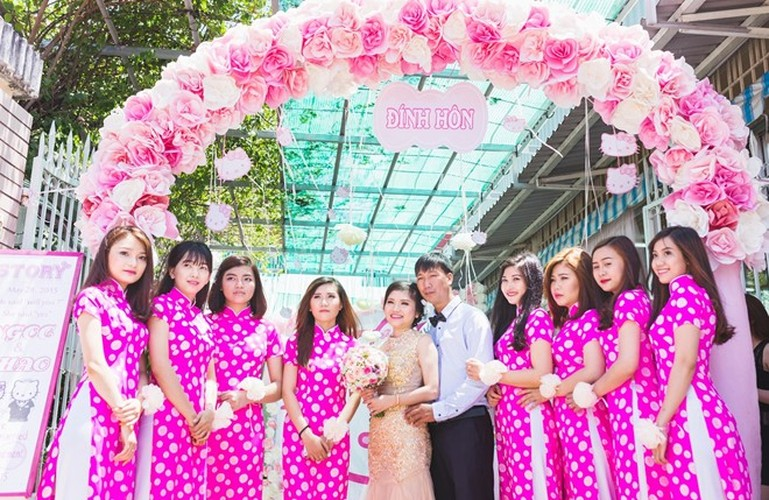 Le an hoi phong cach Hello Kitty tai Binh Duong gay sot-Hinh-8
