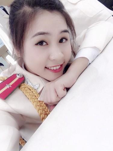 Ve dep cua hot girl Hoc vien Canh sat nhan dan-Hinh-2