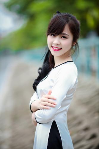 Ve dep cua hot girl Hoc vien Canh sat nhan dan-Hinh-3