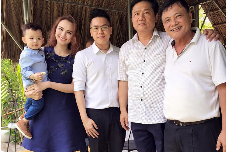 HH Diem Huong hanh phuc don sinh nhat ben con trai-Hinh-12