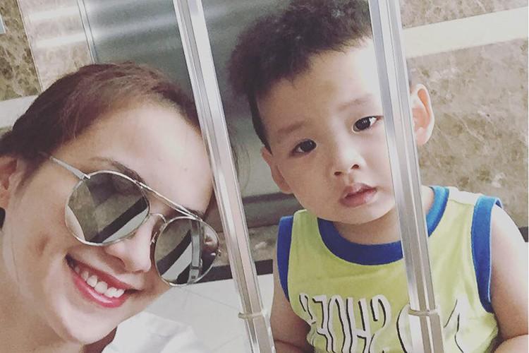 HH Diem Huong hanh phuc don sinh nhat ben con trai-Hinh-13