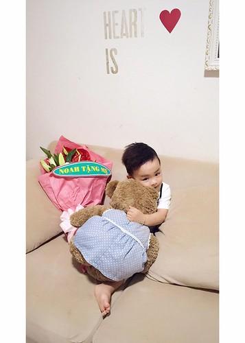 HH Diem Huong hanh phuc don sinh nhat ben con trai-Hinh-8