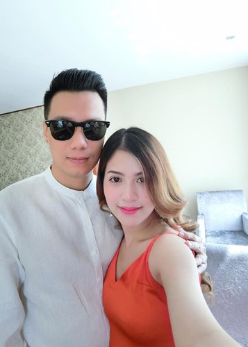 Vo dien vien Viet Anh hanh phuc khoe bung bau lum lum-Hinh-2