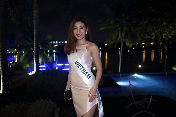A hau Bao Nhu rang ro tai Miss Intercontinental 2016