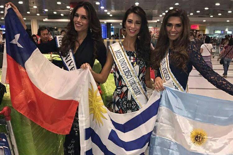 Thi sinh Miss Universe 2016 ram ro len duong di thi-Hinh-6