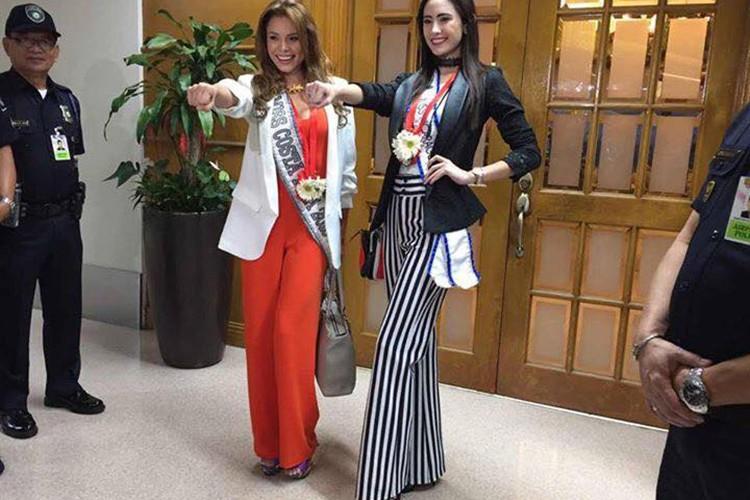Thi sinh Miss Universe 2016 ram ro len duong di thi-Hinh-8