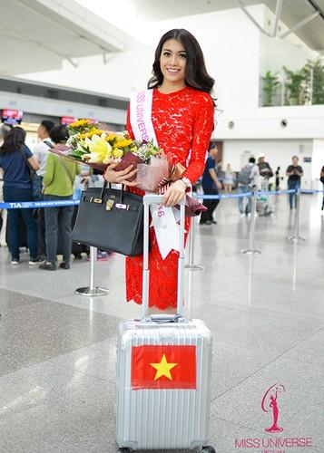Pham Huong, Thien Ly tien Le Hang di thi Miss Universe 2016-Hinh-10
