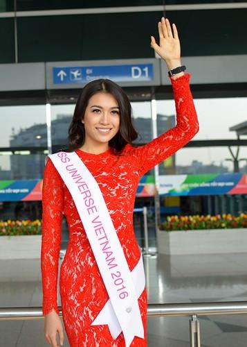 Pham Huong, Thien Ly tien Le Hang di thi Miss Universe 2016-Hinh-11