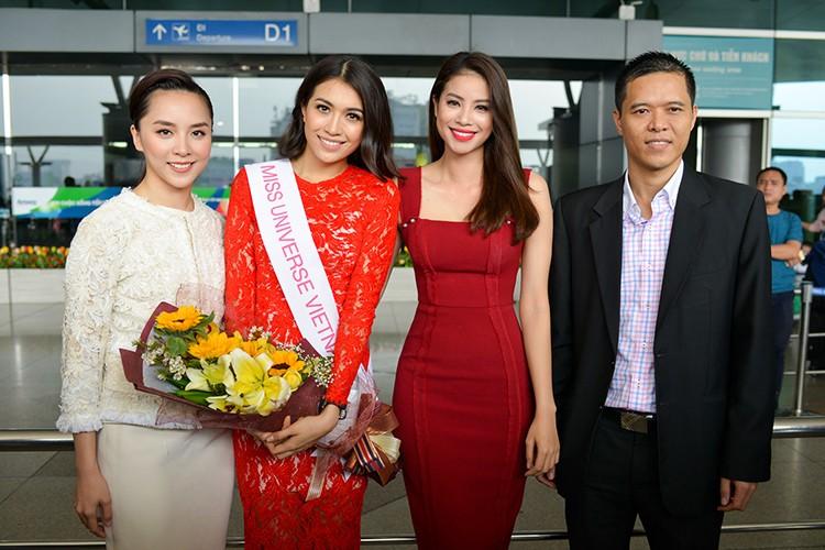 Pham Huong, Thien Ly tien Le Hang di thi Miss Universe 2016-Hinh-2